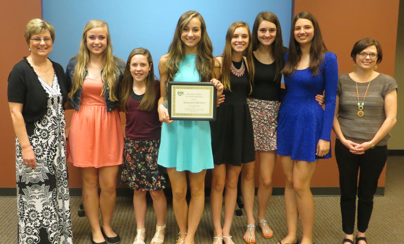 HUEE PSA Winners Kearney Junior High School 2015