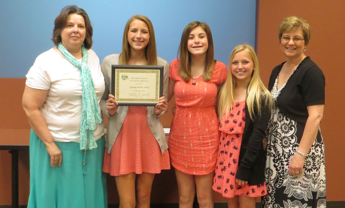 HUEE PSA Winners Kearney Middle School 2015