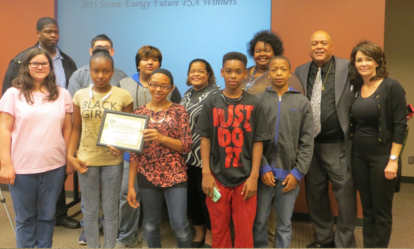 HUEE PSA Winners Northwest Middle School 2015