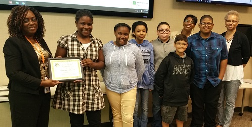 HUEE PSA Winners Grandview Middle School 2016
