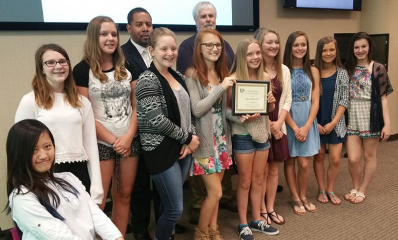HUEE PSA Winners Kearney Middle School 2016 Featured