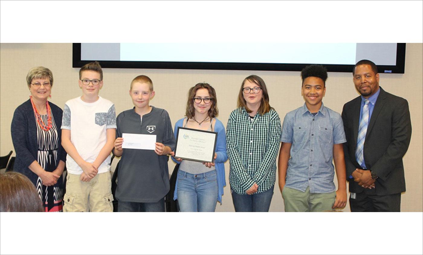 HUEE PSA Winners Kearney Middle School 2017