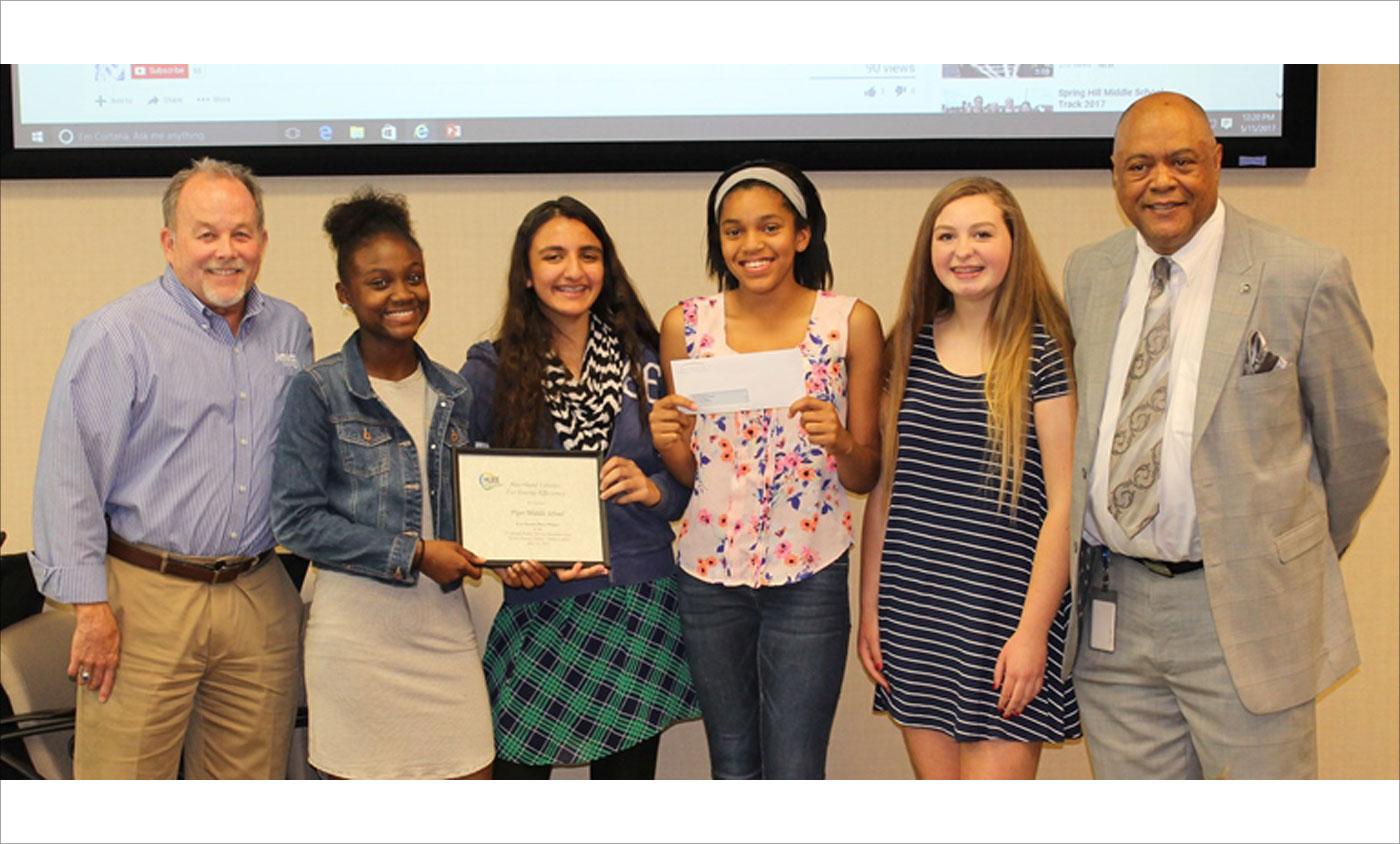 HUEE PSA Winners Piper Middle School 2017