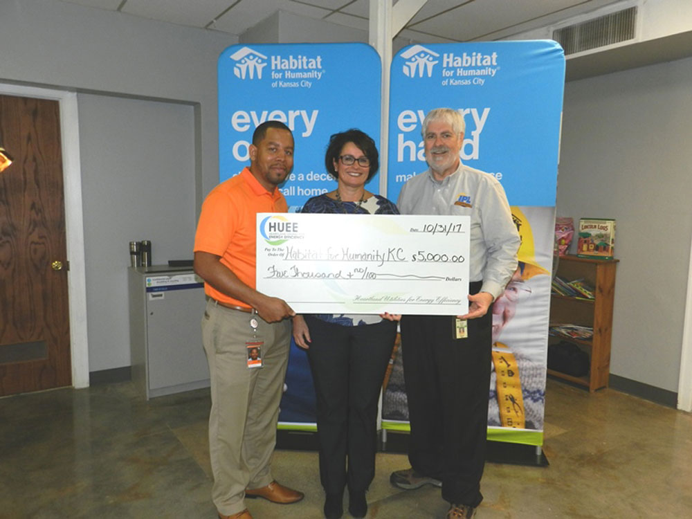 HUEE Grant 2017 Habitat for Humanity of Kansas City