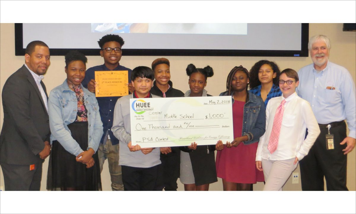 HUEE PSA Winners Center Middle School 2018