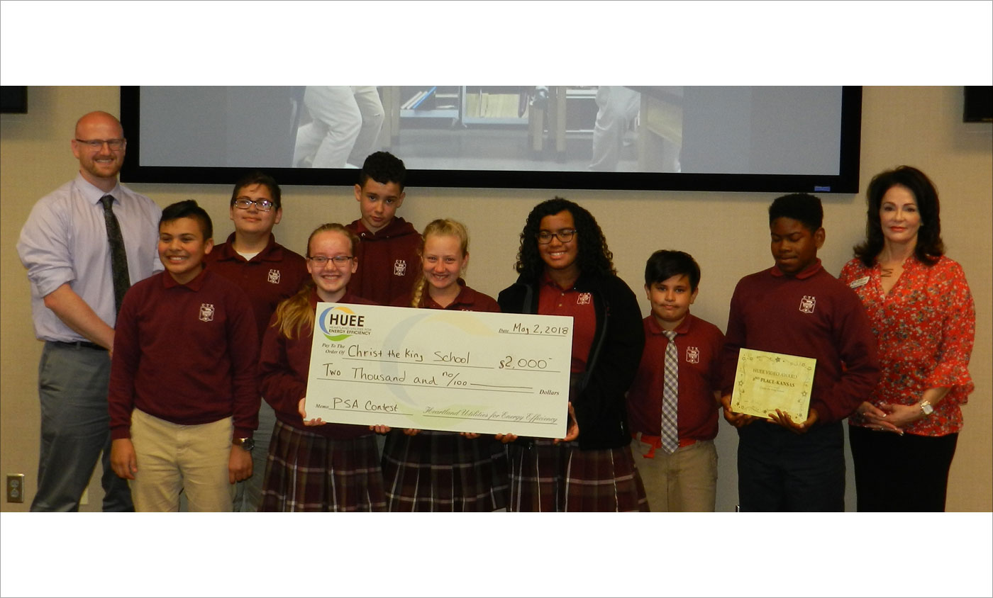 HUEE 2018 PSA Winners Christ The King School