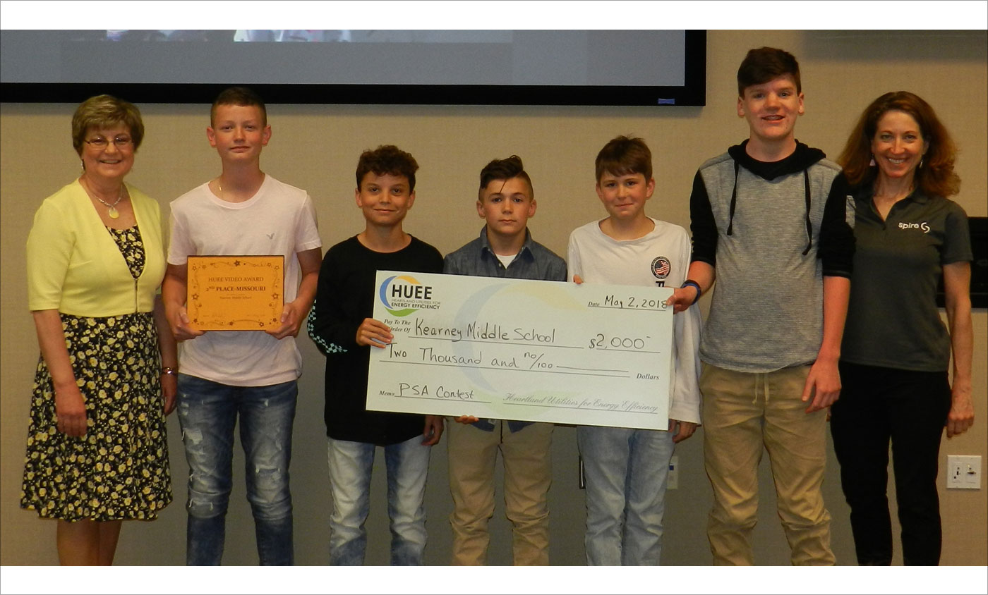HUEE 2018 PSA Winners Kearney Middle School