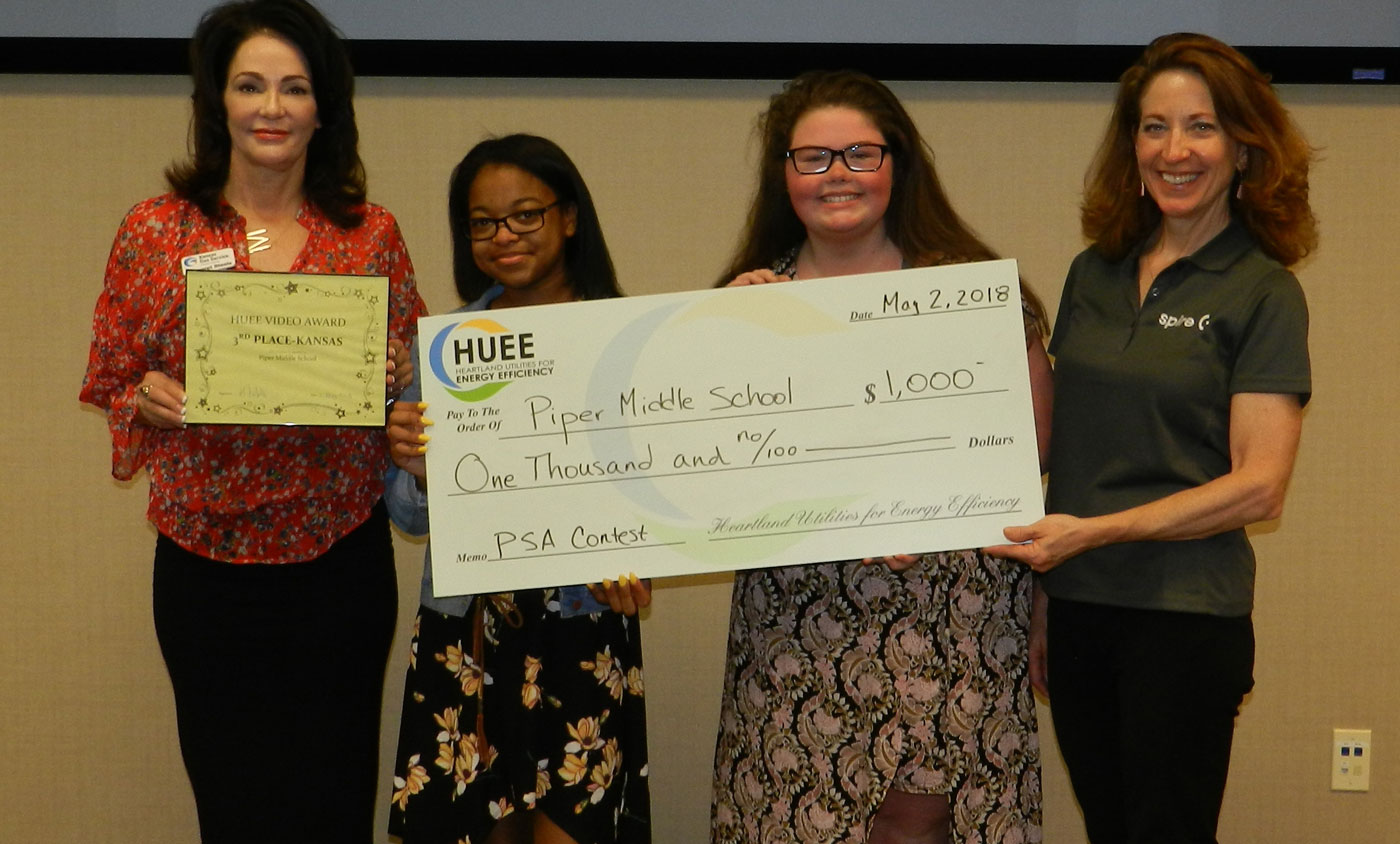 HUEE 2018 PSA Winners Piper Middle School