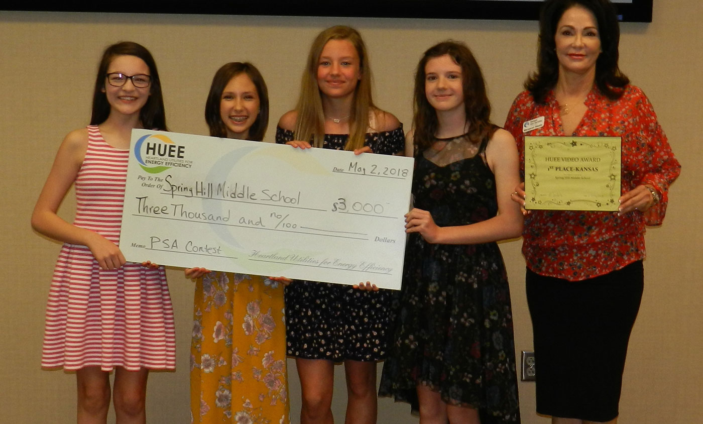 HUEE 2018 PSA Winners Spring Hill Middle School
