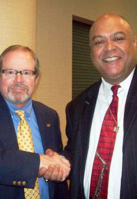 HUEE Partners Gary Milligan and David Allen